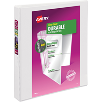 "Avery Durable View Binder 1"" White"