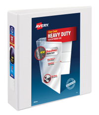 "Avery Heavy Duty Ezd Binder 2"" White"