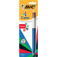 Bic 4 Color Pen Carded