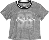 BLUE 84 BROOKLYN CROP TEE