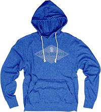 BLUE 84 TRI-BLEND HOOD TEE