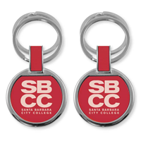 Lxg Double Ring Key Tag Red Sbcc