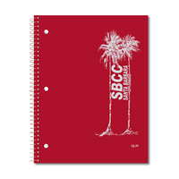 Roaring Springs Notebook 1 Subject Palms