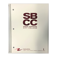 Roaring Springs Notebook 1 Sub Sbcc Official Logo