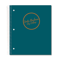 Roaring Spring Notebook 3 Subject Gold Circle