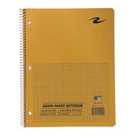 Roaring Spring Quad Ruled 5Sq. Notebook