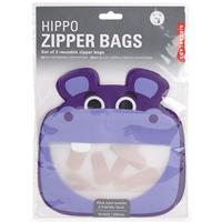 REUSABLE ZIPPER BAGS