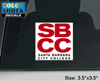 Sbcc Official Logo Decal