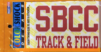 Sbcc Track & Field Decal