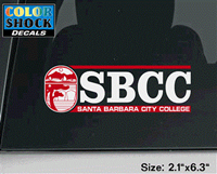 Sbcc Vintage Seal Decal